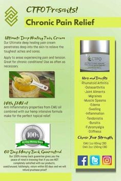 Have you tried other remedies with no results? Then you have to try our rich, hemp formula combined with your chose of Emu oil and CBD or EMU oil with CBD. Find your relief today! Emu Oil, Cbd Hemp Oil, Skin Firming, Medical Marijuana, Cannabis, Chronic Pain, Pain Relief, How To Fall Asleep, Healing