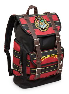 Our kids want this Hogwarts Backpack so badly! Warranty voided if carrying the Monster Book of Monsters