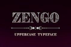 Zengo (Font) by Eva Barabasne Olasz · Creative Fabrica Serif Typeface, Typography Logo, Lettering, Logos, Font Digital, Font Shop, Creative Fonts, Studio Logo, Monogram Fonts