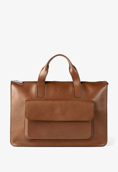 BREE | Oxford 6 mocca - MC - Cowhide Leather soft