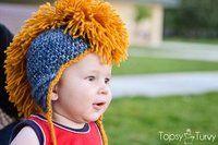 Crochet Mohawk Faux-Hawk