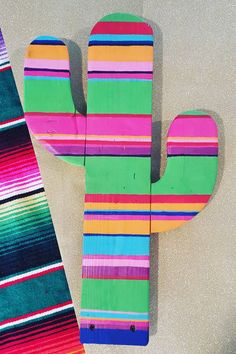 Wood Serape cactus cutout made to order by PinkTopTrailer on Etsy                                                                                                                                                                                 More