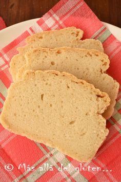 Más allá del gluten...: Pan de Molde Sin Gluten, Sin Huevos y Sin Levadura (Receta GFCFSF, Vegana)