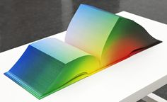 All The Pretty Gradients Mapped Out in Three Big Books: The RGB Colorspace Atlas - Taube Auerbach