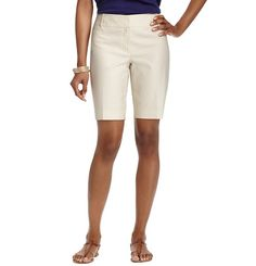 Julie Geo Print Stretch Cotton Walking Shorts with Inseam Modest Shorts, Polished Look, Geo, Stretches, Walking, Welt Pocket, Stylish, Womens Fashion, Style Ideas