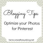 Here Comes the Sun: Five Steps to Better Blog Photos