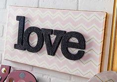 DIY  Love Wall Art