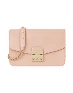FURLA . #furla #bags #shoulder bags #leather #metallic #