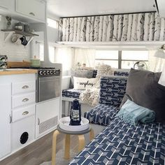 Best Rv Camper Interior Remodel Ideas, Today, you'll find all kinds of campers. Sometimes older campers require an easy face lift or a comprehensive makeover and if you're a camper operator. Cool Campers, Rv Campers, Camper Trailers, Happy Campers, Travel Trailers, Rv Travel, Wanderlust Travel, Camper Hacks, Diy Camper