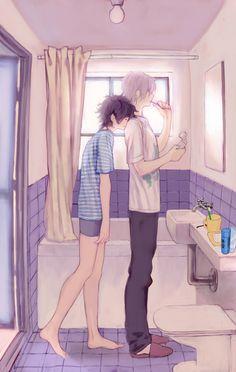 I SHIP THIS SO HARD Tags: Anime, Shin Megami Tensei: Devil Survivor 2, 3838383 (Artist), Kuze Hibiki, Hotsuin Yamato