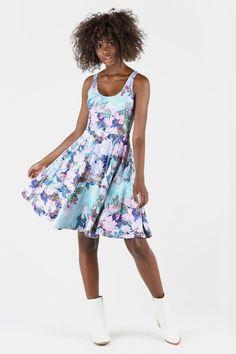 af418a9286bc4 Van Gogh Roses Scoop Longline Dress - Limited. Little DesignsBlack Milk ...
