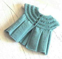 4 ply baby knitting patterns free – Knitting Tips Knitting Patterns Uk, Baby Patterns, Sewing Patterns, Cardigan Bebe, Baby Cardigan, Pull Bebe, Baby Pullover, Knitting For Kids, Summer Knitting