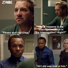 "#iZombie 1x05 ""Flight of the Living Dead"""