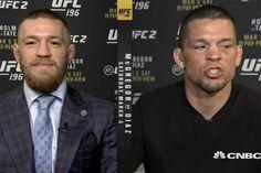 Conor McGregor mocks Nate Diaz's last pay day on CNBC:...: Conor McGregor mocks Nate Diaz's last pay day on CNBC: 'I tip… #ConorMcGregor