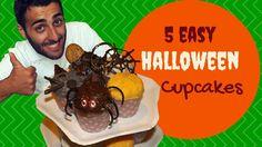 Ecco come decorare i vostri cupcake in modo spettrale, per Halloween ma anche per altre feste e per i bambini !