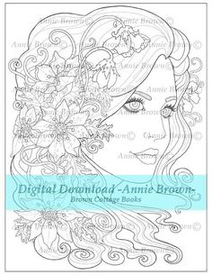 Adult Coloring Page Fantasy