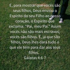 Gálatas 4:6-7