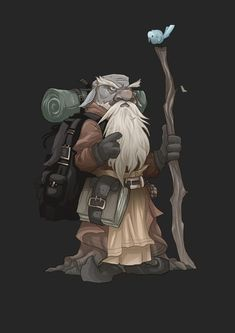 r/DnD - [Art] My lovely girlfriend drew my deep gnome wizard Dungeons And Dragons Characters, Dnd Characters, Fantasy Characters, Fantasy Figures, Fantasy Character Design, Character Design Inspiration, Character Art, Character Reference, Fantasy Dwarf