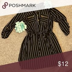 5bd38501ab5 Shop Women s Mlle Gabrielle Black size XLP Long Sleeve at a discounted  price at Poshmark. Description  Black with thin white stripes