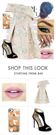 """Boil"" by its-just-moi ❤ liked on Polyvore featuring Anja, Fiebiger, Topshop, Casetify and Jimmy Choo"