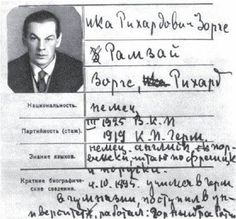 Richard Sorge - il leggendario ufficiale dell'intelligence sovietica, la cui passione per le donne in rovina