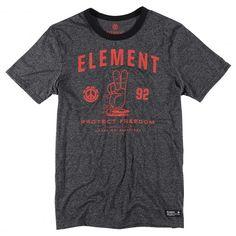 ELEMENT Lawrence SS tee-shirt noir 35,00 € #element #elementskate #elementskateboard #tee #tees #teeshirt #teeshirts #tshirt #tshirts #skate #skateboard #skateboarding #streetshop #skateshop @playskateshop