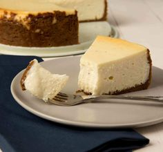 THE BOOZY EGGNOG CHEESECAKE RECIPE YOU DIDN'T KNOW YOU NEEDEDThe tangy cream cheese tempers the sweetness of the eggnog and the rum gives it a nice kick!