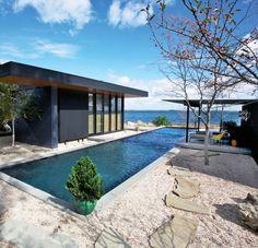 #architecture : Seaside House / Gray Organschi Architecture