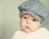 I KNOW 2 LITTLE BOYS COMING THAT ARE GETTING THIS CAP~SO FREAKING CUTE!!  Cute little Irish cap - Etsy seller lavenderlune