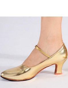 $17.98Womens Brillant Latin Ballroom Dance Shoes Strap Shoes Heels Latin shoes | Overbling.com