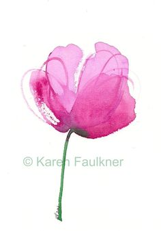 Art, Print, Watercolor, Abstract Flower: Peony    ...BTW,Please Check this out:  http://artcaffeine.imobileappsys.com