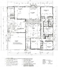 Originals photos and floor plans on pinterest Eichler atrium floor plan