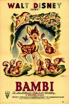 She quite correctly pointed out that Bambi's mother didn't need to die, and that Walt Disney could do anything he wanted in his movies. Description from animatedfilmreviews.blogspot.com. I searched for this on bing.com/images