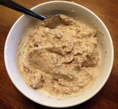 "Primal Oatmeal (I've been making ""cereal"" kind of like this but I'll bet it would be better hot!)"