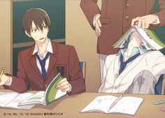 Imagen insertada Cute Anime Boy, I Love Anime, Anime Guys, Sanrio Hello Kitty, Little Twin Stars, Manga Boy, Manga Anime, Keroppi, Sanrio Danshi
