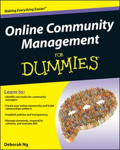 "Win a copy of ""Online Community Management for Dummies"""