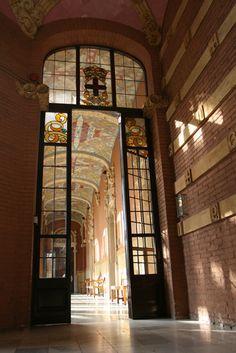 Hospital de Sant Pau  - Interior