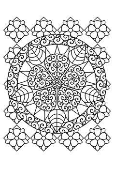 Fleurig Mandala