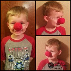 Ravelry: Adjustable Clown Nose pattern by Articles of a Domestic Goddess