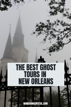 Spend an evening exploring the haunted side of New Orleans with one of the best ghost tours in New Orleans. Ghosts, Vampires and Crime. The best ghost tours in New Orleans, wanderingcrystal, ghost tour New Orleans, spooky things to do in New Orleans, Explore New Orleans, NOLA things to do, Travel NOLA, New Orleans haunted locations, haunted things to do in New Orleans, haunted places in New Orleans, Louisiana things to do, dark history in New Orleans, New Orleans Dark Tourism #NewOrleans… Tours New Orleans, New Orleans Travel, Stuff To Do, Things To Do, Good Things, Creepy, Scary, Ghost Tour, Haunted Places