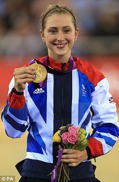 Laura Trott became a double gold medal winner when she triumphed in the final race of the women's omnium, during a breathless night in the Olympic Velodrome.