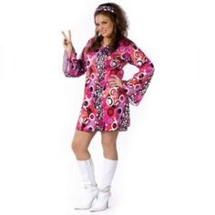 Disco Groovy Plus Size Costumes - Women's Plus Size Costume - http://womensplussizecostume.com/womens-plus-size-costumes/disco-diva-plus-size-costumes