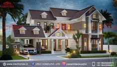 Are you looking for home builders in cochin?requirements like architectural designers,interior designers etc you can contact creohomes,we have Top ten architects in Kochi. House Gate Design, Kerala House Design, Bungalow House Design, House Front Design, Home Design, Modern Small House Design, Free House Plans, Kerala Houses, House Elevation