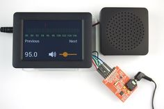 FM Radio with Si4703 and Speaker