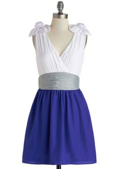Jazz Flute to Boot Dress, #ModCloth