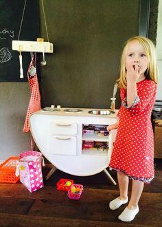QB Kids Kitchen houten speelkeuken