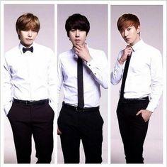Sungmin, Kyuhyun and Eunhyuk - Tony Moly