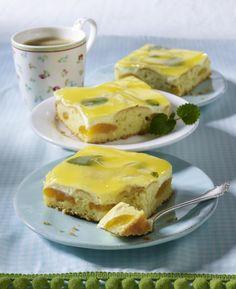 Unser beliebtes Rezept für Zitronen-Aprikosenkuchen mit Fruchtsaftguss und mehr als 55.000 weitere kostenlose Rezepte auf LECKER.de.