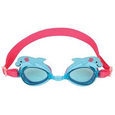 Your little swimmer will make quite a splash at the pool or beach with Stephen Joseph Swim Goggles. These goggles have a soft, comfortable frame in a funky design that protects your child's eyes with fun style to suit them. Zip-up carry case included. Swimming Classes, Kids Swimming, Batting Tee, Little Swimmers, Baby Girl Toys, Funky Design, Dolphins, Joseph, Round Sunglasses