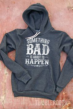 This hoodie pairs perfectly with cowboy boots and bad decisions! The original TumbleRoot design is screen printed onto a high-quality hoodie sweatshirt that will keep you warm and cozy wherever your a
